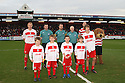 Mascots. Stevenage v Doncaster Rovers - npower League 1 -  Lamex Stadium, Stevenage - 12th January, 2013. © Kevin Coleman 2013.