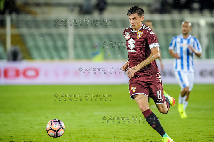 Baselli Daniele (Torino) during the Italian Serie A football match Pescara vs Torino on September 21, 2016, in Pescara, Italy. Photo di Adamo Di Loreto/BuenaVista*photo