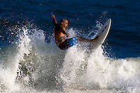 Surfing Rockaway Beach, NY on Sunday, August 29, 2010 near B67th Steet.