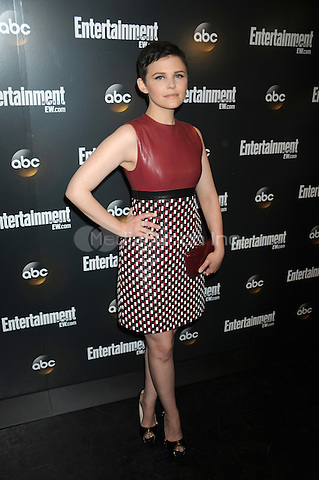 Ginnifer Goodwin attends the Entertainment Weekly & ABC-TV Up Front VIP Party at Dream Downtown on May 15, 2012 in New York City. Credit: Dennis Van Tine/MediaPunch