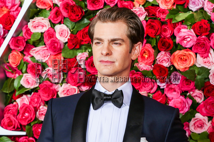 NEW YORK, NY - JUNE 10:  Andrew Garfield attends the 72nd Annual Tony Awards at Radio City Music Hall on June 10, 2018 in New York City.  (Photo by Walter McBride/WireImage)
