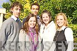 Shane Walsh, Ultan Dillane, Caitriona Kelliher, Michelle O'Keeffe (winner) and Aileen Somers.