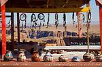 Arizona, Highway 64, Navajo jewelry, pottery, Little Colorado River Canyon, Navajo Reservation, Navajo Nation, U.S.A., Roadside attractions,