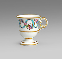 BNPS.co.uk (01202 558833)<br /> Pic: Woolley&Wallis/BNPS<br /> <br /> £900 - An 'Ice Cup' for the new invention of ice cream from Madame Du Barry.<br /> <br /> One woman's lifetime collection of French porcelain that filled 'every nook and cranny' of her modest home sold for £373,000 yesterday, £125,000 over estimate.<br /> <br /> The late Judith Howard's passion for 18th century gallic ceramics saw the walls, shelves and display cabinets adorned with hundreds of plates, dishes and bowls.<br /> <br /> She was well known for having an eye for a bargain, so much so that a 250-year-old plate she bought for £13 at an antiques shop sold for £31,000.<br /> <br /> The item was once part of the 1,735 dinner service set made for French King Louis XV and housed in the Palace of Versailles.