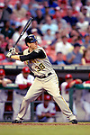 5 June 2007: Pittsburgh Pirates outfielder Jason Bay in action against the Washington Nationals at RFK Stadium in Washington, DC. The Pirates defeated the Nationals 7-6, in the first game of their 3-game series...Mandatory Credit: Ed Wolfstein Photo