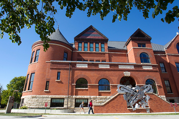 Morrill Hall on the campus of Iowa State University in Ames, Iowa. (Christopher Gannon/Gannon Visuals)