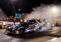 Oct 11, 2019; Concord, NC, USA; NHRA funny car driver Jack Beckman during qualifying for the Carolina Nationals at zMax Dragway. Mandatory Credit: Mark J. Rebilas-USA TODAY Sports