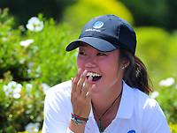 Grace Kim. 2018 Annika Australiasia Invitational Junior-Am at Royal Wellington Golf Club in Upper Hutt, Wellington, New Zealand on Saturday, 15 December 2018. Photo: Dave Lintott / lintottphoto.co.nz