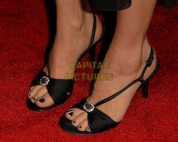 FERGIE'S SHOES.Fergie's Birthday Party at Citizen Smith Nightclub in Hollywood , California, USA..March 28th, 2006.Ref: DVS.Stacey Ferguson Black Eyed Peas nail varnish polish black chipped feet.www.capitalpictures.com.sales@capitalpictures.com.Supplied By Capital PIctures.