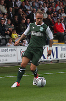 Leigh Griffiths in the St Mirren v Hibernian Clydesdale Bank Scottish Premier League match played at St Mirren Park, Paisley on 18.8.12.