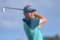 Matt Fitzpatrick (ENG) watches his tee shot on 14 during round 3 of the Arnold Palmer Invitational at Bay Hill Golf Club, Bay Hill, Florida. 3/9/2019.<br /> Picture: Golffile | Ken Murray<br /> <br /> <br /> All photo usage must carry mandatory copyright credit (&copy; Golffile | Ken Murray)