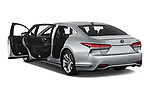 Car images close up view of a 2019 Lexus LS 500h 4 Door Sedan doors