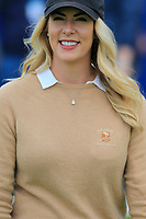 Jon Rahm (ESP) wife Kelley Cahill at the end of Sunday's Final Round of the Dubai Duty Free Irish Open 2019, held at Lahinch Golf Club, Lahinch, Ireland. 7th July 2019.<br /> Picture: Eoin Clarke | Golffile<br /> <br /> <br /> All photos usage must carry mandatory copyright credit (© Golffile | Eoin Clarke)