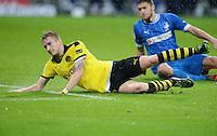 FUSSBALL   1. BUNDESLIGA   SAISON 2012/2013   17. SPIELTAG   TSG 1899 Hoffenheim - Borussia Dortmund      16.12.2012           Marco Reus (Borussia Dortmund) am Boden