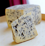 Ermite Cheese, a blue cheese produced by the monks at Abbaye St. Benoit du Lac in the Eastern Townships of Quebec, Canada