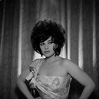 La chanteuse et comedienne francaise Maria Vincent<br /> (date inconnue)<br /> <br /> PHOTO : Agence Quebec Presse - Roland lachance