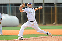 16 May 2010:  FIU's Corey Polizzano (6) pitches in the eighth inning as the FIU Golden Panthers defeated the University of South Alabama Jaguars, 5-0, at University Park Stadium in Miami, Florida.