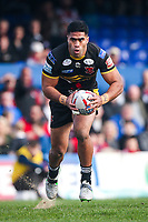 Picture by Alex Whitehead/SWpix.com - 12/03/2017 - Rugby League - Betfred Super League - Wakefield Trinity v Salford Red Devils - Beaumont Legal Stadium, Wakefield, England - Salford's Lama Tasi.