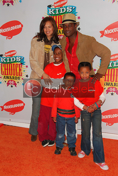 Blair Underwood and family<br />