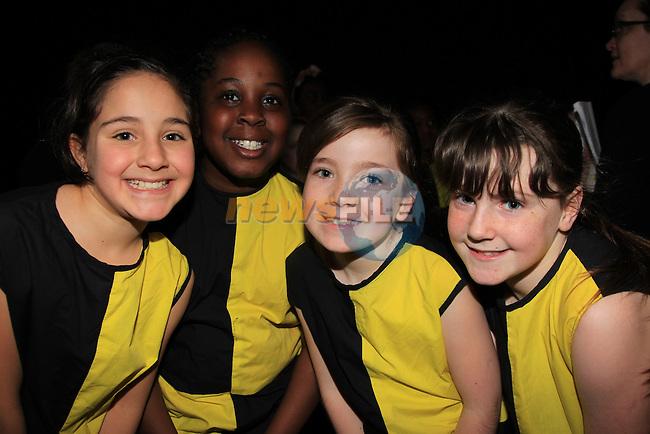 Dina Abu hantash.Holy imafidom.Aoife Byrne tiernan.Caitlin o Reilly.Marymount GNS Dance Show in the Barbican.Picture: Fran Caffrey / www.newsfile.ie .