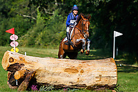 NZL-Amanda Goldsbury rides Bridie during the Cross Country for the Blarney Castle CCI2*-L. 2019 IRL-Sema Lease Camphire International Horse Trials. Cappoquin. Co. Waterford. Ireland. Saturday 27 July. Copyright Photo: Libby Law Photography