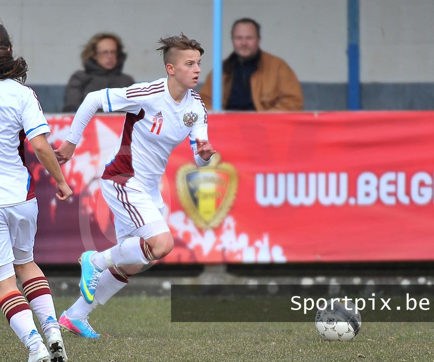 Switzerland U19 - Russia U19 : Marina Kiskonen.foto DAVID CATRY / Nikonpro.be