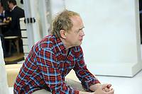 Schauspieler Uwe Ochsenknecht am Stand von Bastei/Lübbe