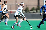 DURHAM, NC - NOVEMBER 11: Miami's Allie Grace Joyner. The Duke University Blue Devils hosted the Miami University (Ohio) Redhawks on November 11, 2017 at Jack Katz Stadium in Durham, NC in an NCAA Division I Field Hockey Tournament First Round game. Duke won the game 4-2.