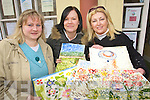 WOMAN TO WOMAN: Celebrating International Women's day at Tralee Women's Resource Centre, Ashe Street, with a free art day on Friday were Muirosa Murphy, Christina Popoola and Anne Norton.