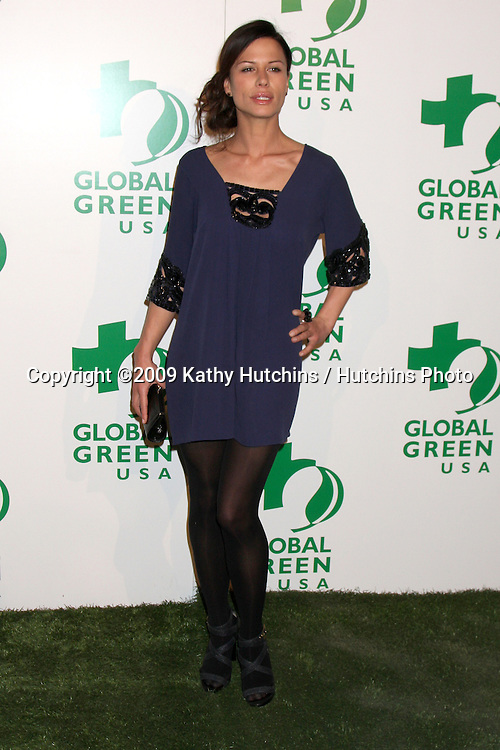 Rhona Mitra   arriving at the Global Green USA's 6th Annual Pre-Oscar Party  at  Avalon in.Hollywood, CA on.February 19, 2009.©2009 Kathy Hutchins / Hutchins Photo...                .