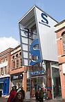 Sailmakers shopping centre entrance, Tavern Street, Ipswich, Suffolk, England, UK