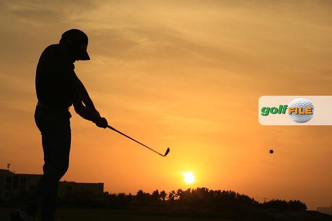 Linda Wessberg (SWE) during the first round of the Fatima Bint Mubarak Ladies Open played at Saadiyat Beach Golf Club, Abu Dhabi, UAE. 10/01/2019<br /> Picture: Golffile | Phil Inglis<br /> <br /> All photo usage must carry mandatory copyright credit (&copy; Golffile | Phil Inglis)