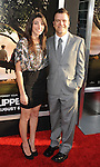 "HOLLYWOOD, CA. - July 26: Kevin Weisman (R) and wife Jodi arrive at the ""Flipped"" Los Angeles Premiere at ArcLight Cinemas Cinerama Dome on July 26, 2010 in Hollywood, California."