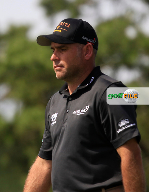 Hennie Otto (RSA) on the 6th tee during Round 1 of the D+D Real Czech Masters at the Albatross Golf Resort on Thursday 27th August 2015.<br /> Picture:  Thos Caffrey / www.golffile.ie