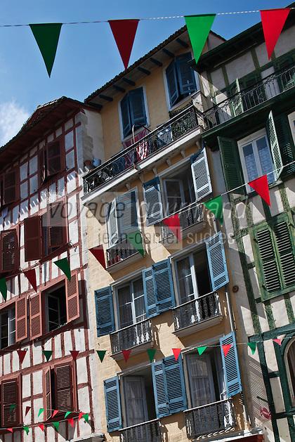 Europe/France/Aquitaine/64/Pyrénées-Atlantiques/Pays-Basque/Bayonne: Rue Argenterie