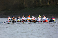 Crew: 158   Tideway Scullers School (McChesney)   MasF<br /> <br /> Quintin Head 2019<br /> <br /> To purchase this photo, or to see pricing information for Prints and Downloads, click the blue 'Add to Cart' button at the top-right of the page.
