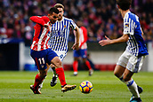 2nd December 2017, Wanda Metropolitano, Madrid, Spain; La Liga football, Atletico Madrid versus Real Sociedad; Angel Martin Correa (11) Atletico de Madrid's player