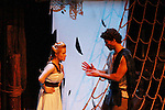 Emma Zaks & Josh A. Davis - Athena & Odysseus - Dress Rehearsal of Odyssey - The Epic Musical  on October 21, 2011 at the American Theatre of Actors, New York City, New York. (Photo by Sue Coflin/Max Photos)
