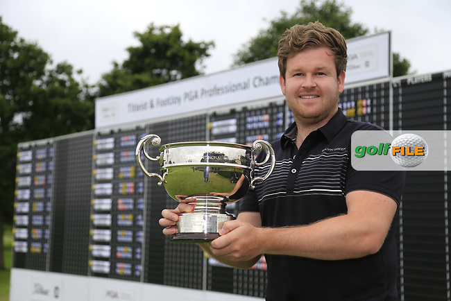 Paul O'Hara (North Lanarkshire Leisure Ltd) winner of the Titleist &amp; Footjoy PGA Professional Championship at Luttrellstown Castle Golf &amp; Country Club on Tuesday 13th June 2017.<br /> Photo: Golffile / Fran Caffrey.<br /> <br /> All photo usage must carry mandatory copyright credit     (&copy; Golffile | Fran Caffrey)