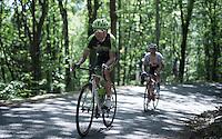 Janier Acevedo (COL/Cannondale-Garmin) up the Monte Ologno (1168m)<br /> <br /> Giro d'Italia 2015<br /> stage 18: Melide (SUI) - Verbania (170km)