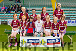 Knockanes NS at the  3 Teacher Schools Final at the Allianz Cumann na mBunscol Girls Final at Austin Stacks Park on Tuesday Pictured Molly O'Donohue, Caoimhe Crowley, Caitlyn Kelly, Sinead Gleeson, Ali Cahill, Sarah Moran, Zara Burke, Ava Doherty, Alison O'Sullivan, Leah Burke, Caoimhe O'Sullivan