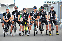 The NZ national team. The opening ceremony of the NZ Cycle Classic UCI Oceania Tour at Mitre 10 Mega in Masterton, New Zealand on Tuesday, 16 January 2018. Photo: Dave Lintott / lintottphoto.co.nz