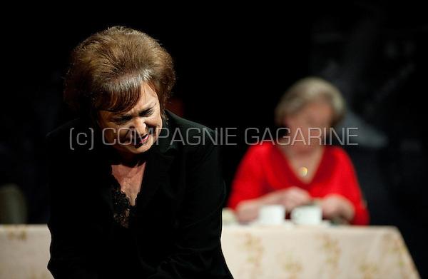 """Theatre group Streven playing """"De Ronde van Vlaanderen"""" from author Walter Van den BroecK in Edegem (Belgium, 13/03/2009)"""