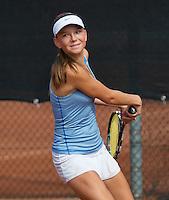 August 6, 2014, Netherlands, Rotterdam, TV Victoria, Tennis, National Junior Championships, NJK,  Perla Nieuwboer (NED)<br /> Photo: Tennisimages/Henk Koster