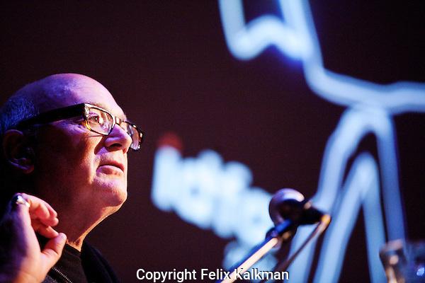 Amsterdam, november 28, 2013<br /> International Documentary Film Festival Amsterdam<br /> IDFA, De Brakke Grond<br /> Key Talk: Nick Fraser (BBC Commisioning Editor)<br /> Photo by Felix Kalkman