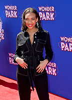 LOS ANGELES, CA. March 10, 2019: Tyrah Majors at the premiere of &quot;Wonder Park&quot; at the Regency Village Theatre.<br /> Picture: Paul Smith/Featureflash
