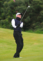 Liam Power (Galway) on the 17th during the Connacht Semi-Final of the AIG Barton Shield at Galway Bay Golf Club, Galway, Co Galway. 11/08/2017<br /> Picture: Golffile | Thos Caffrey<br /> <br /> <br /> All photo usage must carry mandatory copyright credit     (&copy; Golffile | Thos Caffrey)