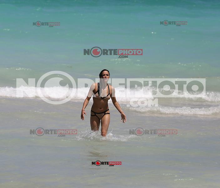 APRIL 26 2013.Michelle Rodriguez enjoy Miami beaches.Non Exclusive.Mandatory Credit: KDNPIX.COM..Ref: kdn_XIM ++<br /> ©/NortePhoto
