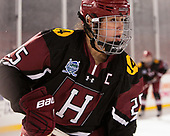 Sydney Daniels (Harvard - 25) - The Boston College Eagles defeated the Harvard University Crimson 3-1 on Tuesday, January 10, 2017, at Fenway Park in Boston, Massachusetts.The Boston College Eagles defeated the Harvard University Crimson 3-1 on Tuesday, January 10, 2017, at Fenway Park.