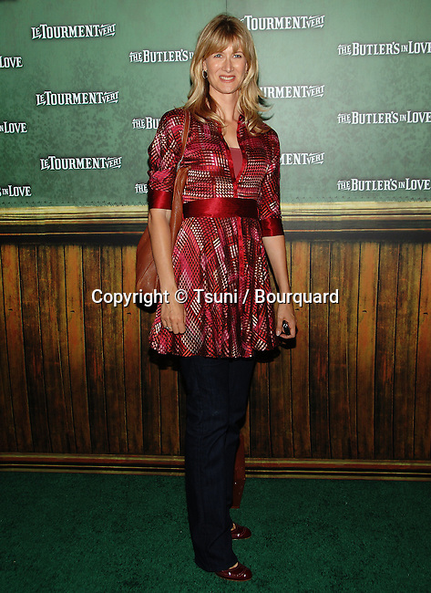 Laura Dern  - <br /> The Butler's in Love Premiere at the Chinese Theatre In Los Angeles.<br /> <br /> full length<br /> eye contact